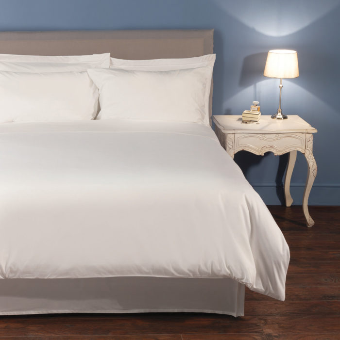 Valencia White Duvet Set