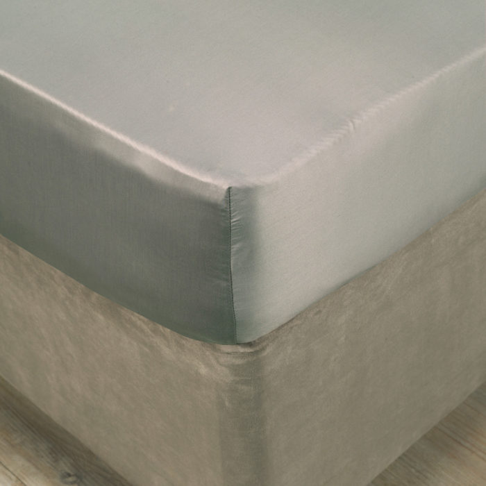 Monaco Grey Fitted Sheet