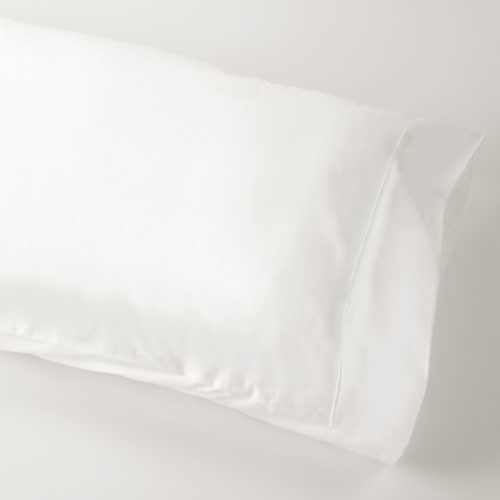 Monaco White Housewife Pillowcase