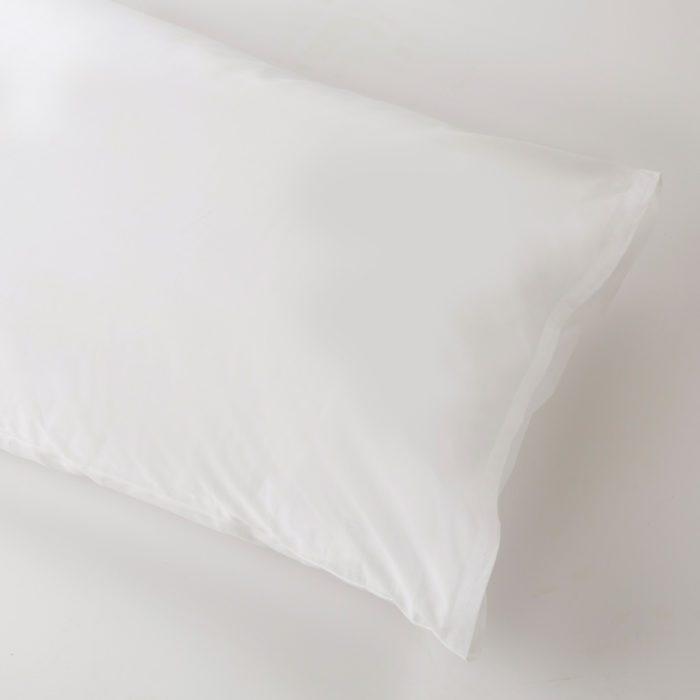 Valencia White Housewife Pillowcase