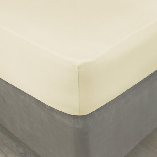 Percale Plain Dye Fitted Sheet